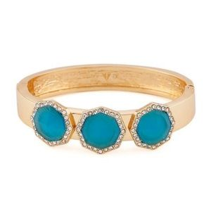 NWT Vince Camuto Aqua Stone Pave Bracelet